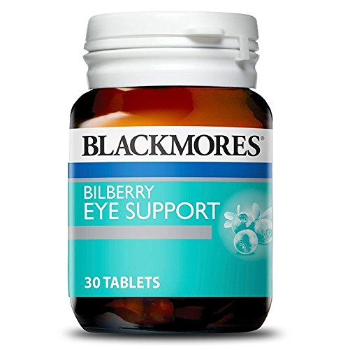 Blackmores Bilberry Eye Support 30 Tablets (Bilberry Tablets)