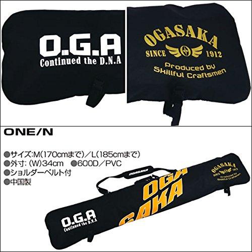 OGASAKA(オガサカ)スキーケースONEスキー1組収納可能スキーバッグOGASAKAM(170cmまで)