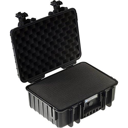 3000 Black case with pre-cut foam Electronic Compu...