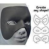 Best Cinema Secrets Mens Costumes - Woochie Hero Mask - Black Costume Make Up Review