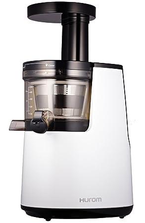Hurom HH-WBE11 Slow Juicer - Exprimidor de zumo a baja velocidad de Segunda Generación, Blanco: Amazon.es: Hogar