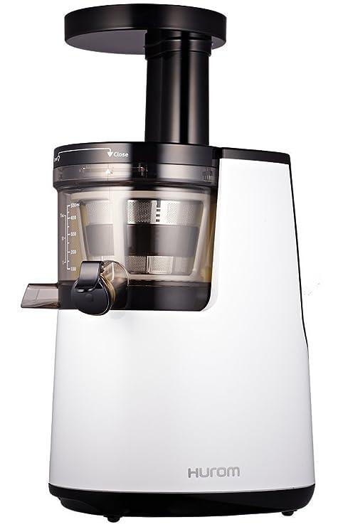 Hurom HH-WBE11 Slow Juicer - Exprimidor de zumo a baja velocidad de Segunda Generación, Blanco