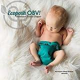 Ecoposh OBV Newborn AIO Fitted Cloth Diaper Caribbean