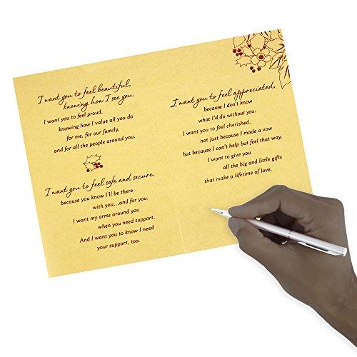 Hallmark Mahogany Christmas Greeting Card for Wife (I Want to Give You) Photo #5