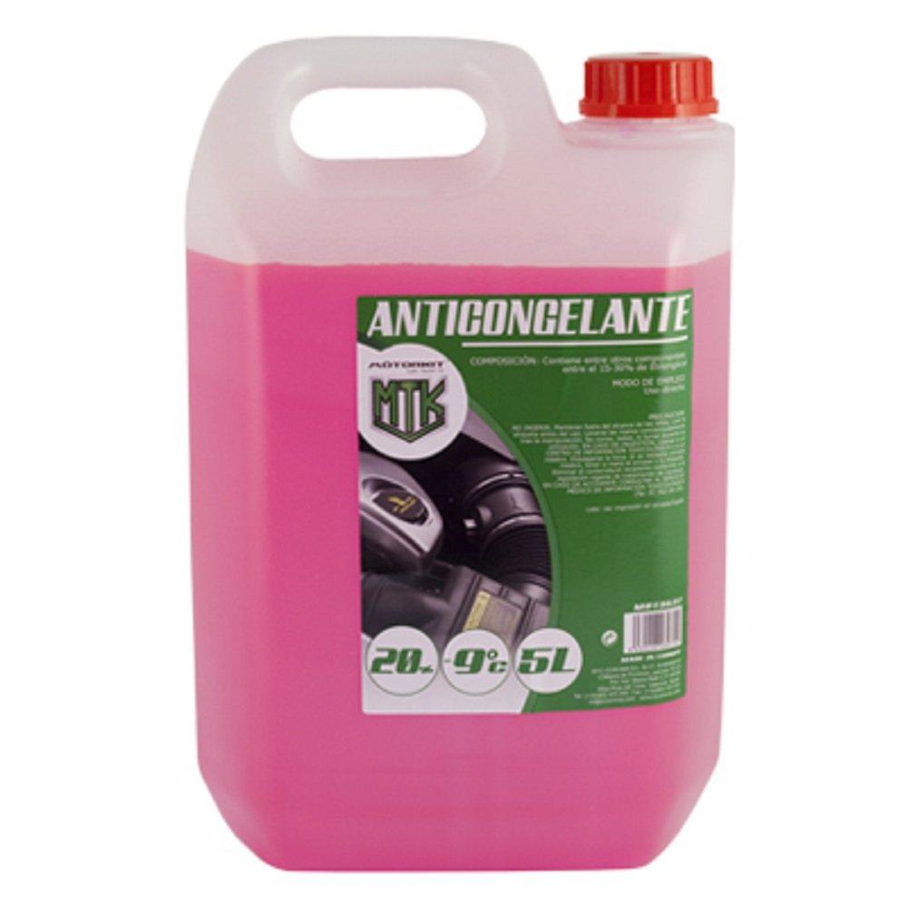 Motorkit MOT3538 Anticongelante, 5L, 20 %, Verde ABC Parts