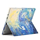 Unik Case - Ultra-thin Skin Sticker PVC Protective Skin Decal Vinyl Cover Protector for Microsoft Surface Pro 4 and Surface Pro(2017 released) - Starry Night