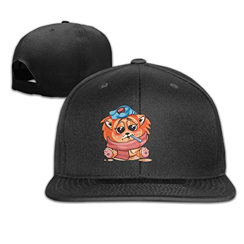 Aiguan Little Lion Cold Flat Visor Baseball Cap Fashion Snapback Hat - 8 Colors ()