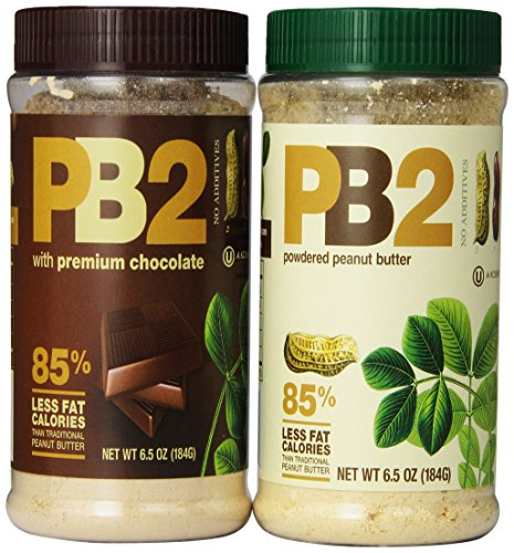 Bell Plantation PB2 Powdered Peanut Butter and PB2 with Premium Chocolate, 6.5 Ounce (Pack of (2 Pack Chocolate)