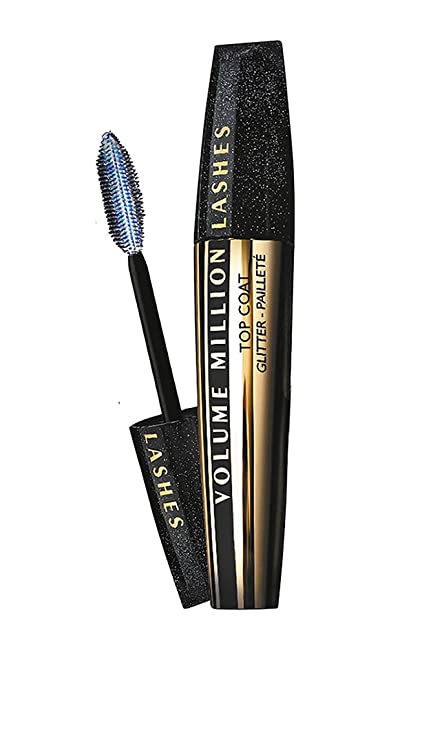 LOréal Paris Volume Million Lashes Top Coat Hologram - máscaras de pestañas (Negro