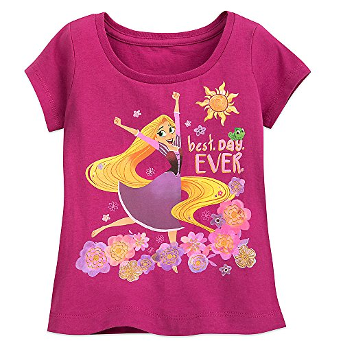Disney Rapunzel T-Shirt For Girls - Tangled: The Series Size S 456216133887