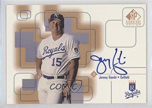 Jeremy Giambi (Baseball Card) 1999 SP Signature Edition - Autographs (1999 Sp Signature Edition)