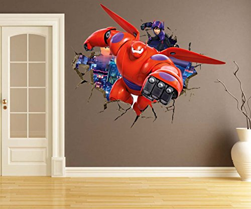 Wall Decal Decor RoomMates Big Hero 6 Baymax
