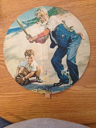 OLD VINTAGE DR PEPPER ADVERTISING HAND FAN FAIR