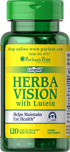 Puritan's Pride Herbavision with Lutein and Bilberry-120 Softgels