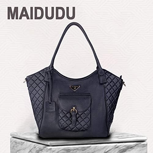 MAIDUDU Casual Handbag & Retro Elements Women's Tote Bag & Shoulder Bag with Large Capacity for Laptop