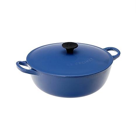 Amazon.com: Le Creuset sopa olla con tapa, de 2 – 3/4 Quart ...
