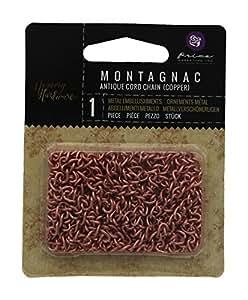 Prima Marketing 655350990688 Memory Hardware Montagnac Antique Cord Chain Scrapbooking Embellishments