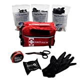 Stop The Bleed STAT 1 Kit With Compressed Gauze Red Bag by MFASCO