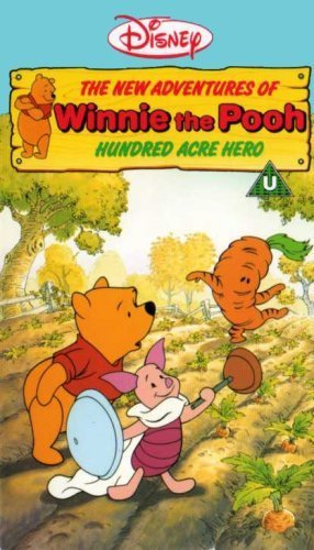 The New Adventures Of Winnie The Pooh, Hundred Acre Hero Disney VHS Video
