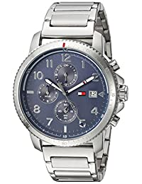 Tommy Hilfiger Men's 'Sport' Quartz Stainless Steel Casual Watch, Color:Silver-Toned