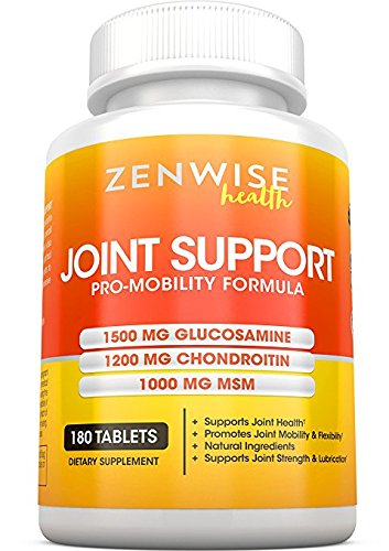 Glucosamine-Sulfate-1500mg-Chondroitin-MSM-Extra-Strength-Joint-Pain-Relief-Supplement-with-Hyaluronic-Acid-All-Natural-Health-Support-for-Aches-Soreness-Inflammation-180-Tablets