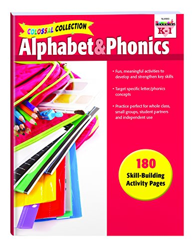 - Colossal Collection of Alphabet & Phonics Activities - NL4683 (Colossal Collections)