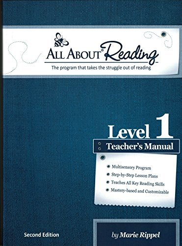 All About Reading Level 1 Teachers Manual 2nd edition