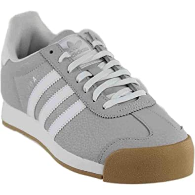 c5ee40d23 adidas Samoa Women s Shoes Light Solid Grey White Silver Metallic bb8984 (5  B