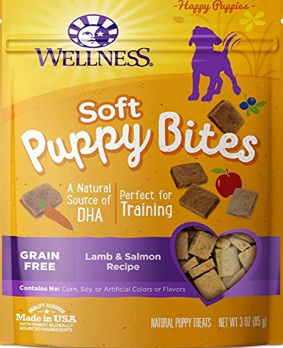 WELLPET 634383 8-Pack Wellness Just for Puppy Treat for Pets, 3-Ounce