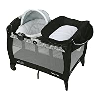 Graco Pack 'n Play Newborn Napper Oasis with Soothe Surround Technology, Teig...
