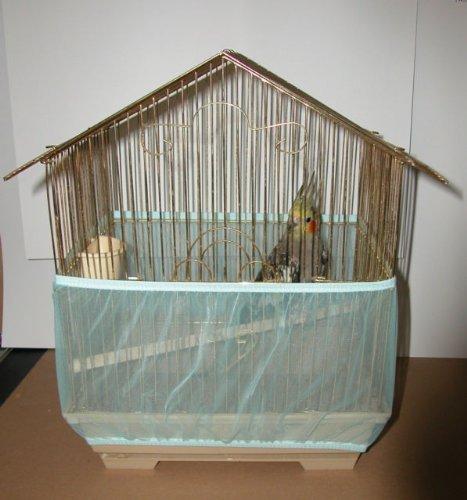 Sheer Guard Bird Cage Skirt - Super Large (Aqua) by Sheer Guard