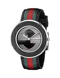 Gucci Women's YA129444 U-Play Collection Analog Display Swiss Quartz Multi-Color Watch