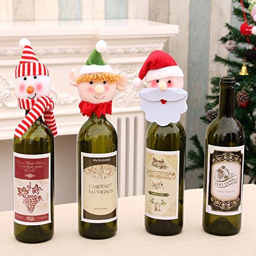 3 pcs diferentes estilos bonito muñeco de nieve de Papá Noel de ...