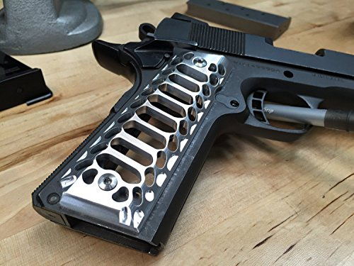 1911-GovernmentCommander-Full-Size-Grips-Aluminum-Cobra-Skeleton-Brushed-Aluminium