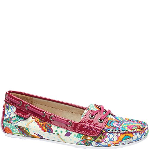 Patent Liberty Shoes Grand Pink Navy Print Bala Bazaar Sebago Thorpe dark 6Y51w7Aqg