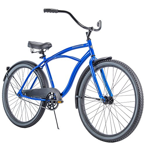 k Men's Cruiser Bike with Perfect Fit Frame, Blue ()