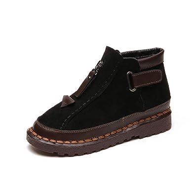 892bea14 Amazon.com | T-JULY Ladies Fashion Ankle Boots Autumn Winter Shoes ...