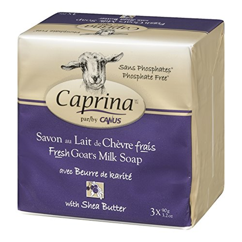 Caprina by Canus Fresh Goats Milk Soap, Shea Butter 3.2 oz