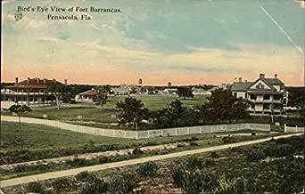Fort Barrancas Pensacola Florida Fl Original Vintage