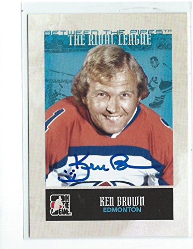 Ken Brown Signed 2009/10 Between the Pipes Card #149 - NFL Autographed Football ()