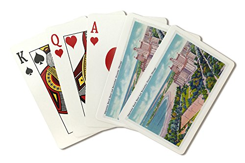 chicago-illinois-view-of-the-edgewater-beach-hotel-and-recreation-grounds-playing-card-deck-52-card-