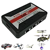 1S Compact Lipo Battery Charger USB 3.7v 6 Charging Ports for Syma UDI Hubsan Wltoys TDR Lithium Ion Recharger Micro RC Drone Mini Helicopter Airplane Quadcopter UFO