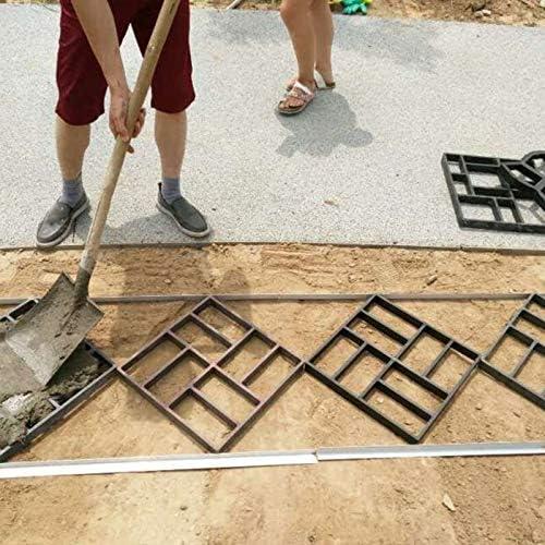 Noblik Garden Diy Manual Mold Trail Road Paving Cement Concrete Mold Manufacturer Path Pavement Stone Brick Mold