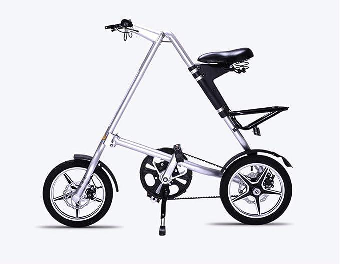 FAEIO Bicicleta Plegable 14 Pulgadas Rueda para niños Carretera ...