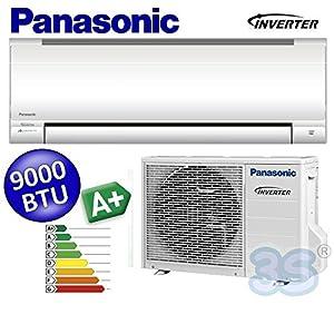 NEU Split Inverter PANASONIC Klimaanlage Klimagerät 2,6 KW 9.000 KIT-UE9-RKE