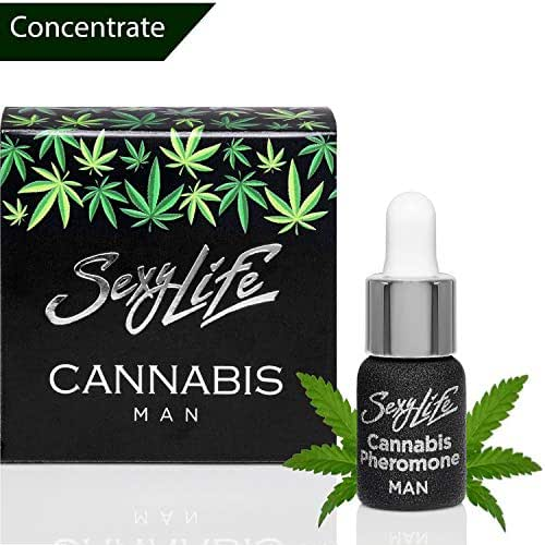 Unique Pheromones for Men With the Addition of Cannabis Perfume, Hemp Scents to Attract and Seduce Women (Oil Pheromone Human 5 ml)