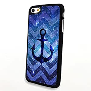 Generic Phone Accessories Matte Hard Plastic Phone Cases Cute Aztec Anchor fit for Iphone 6