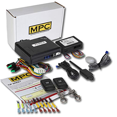 MPC Complete 1-Button Remote Start Keyless Entry for 2000-2005 Pontiac Grand Am