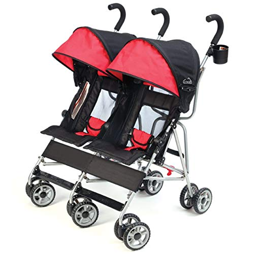 Buy double umbrella stroller for infant and toddler