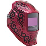 Auto Darkening Welding Helmet, Pink and Black, Digital Elite, 8 to 13 Lens Shade